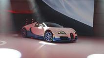 Bugatti Veyron 16.4 Grand Sport Vitesse Special Edition live in Paris 27.9.2012