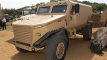 McLaren helped design British Foxhound armoured vehicle [video]
