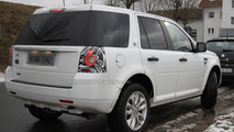 Land Rover Freelander Facelift spy photos
