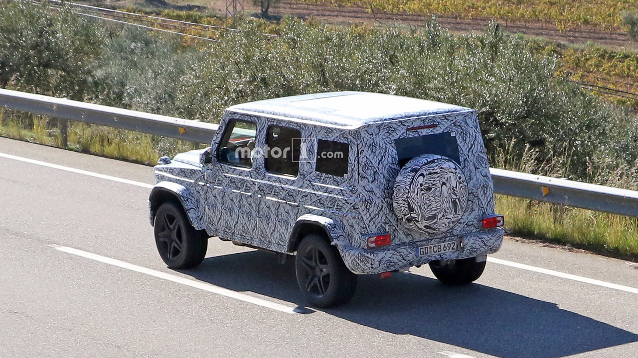 2017 - [Mercedes-Benz] Classe G II - Page 2 2019-mercedes-amg-g63-spy-photo
