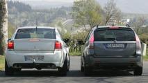 Next Generation Saab 9-3 spy photos