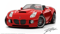 Pontiac Solstice with Mallett Pitbull Body Kit