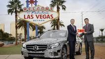 Mercedes E-Class autonomous test licence