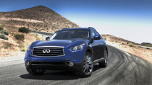 Infiniti G25 sedan dropped, EX & FX gain new engines