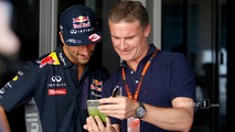 Daniel Ricciardo, Red Bull Racing with David Coulthard, Red Bull Racing and Scuderia Toro Advisor - BBC Television Commentator