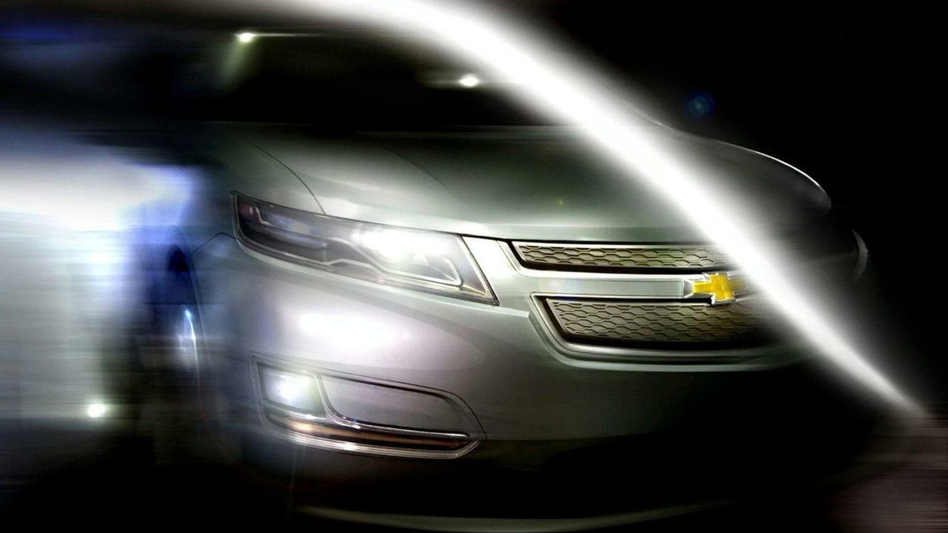 GM Release First Teaser Shot of Production Chevrolet Volt