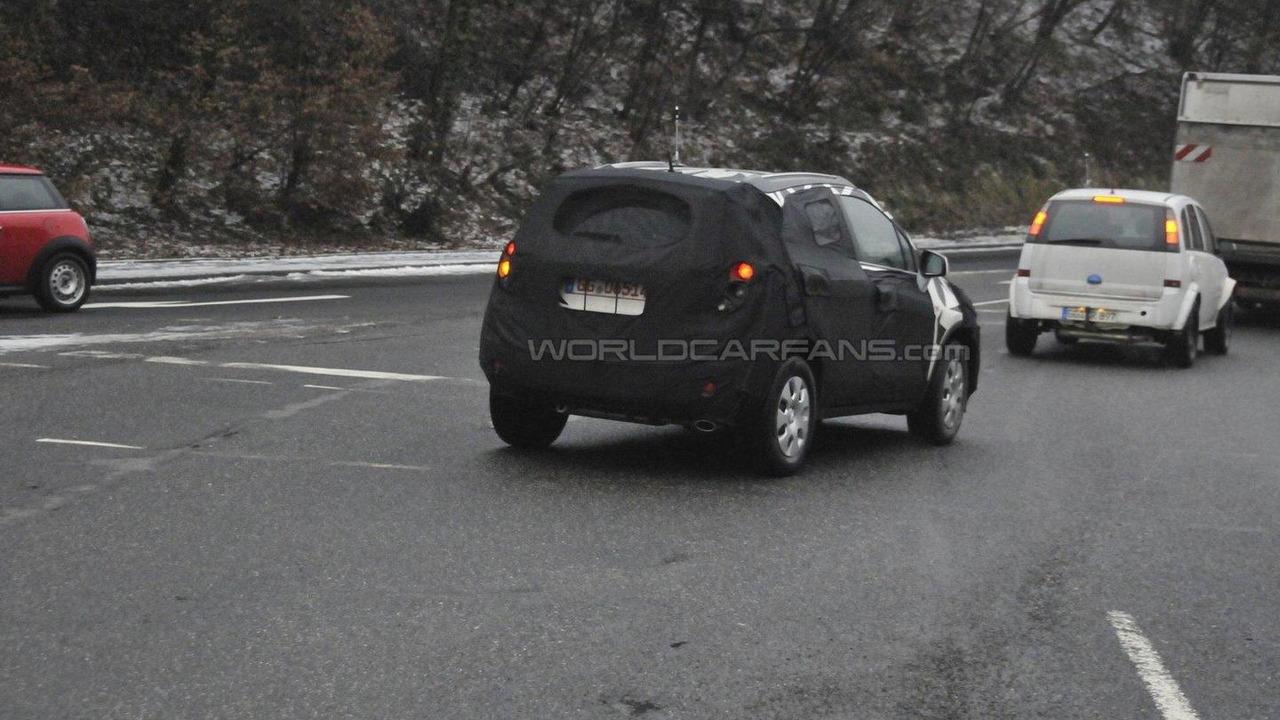 Opel Corsa based SUV first spy photos 09.02.2011