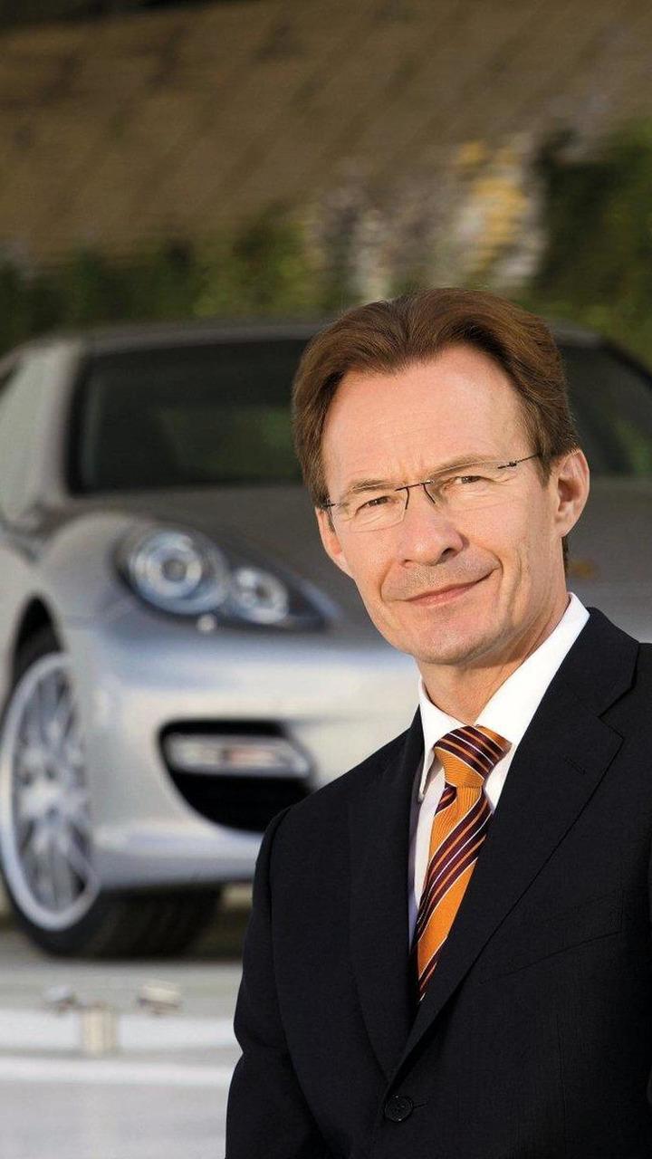 Michael Macht Porsche Chairmanship 07.2009 - 09.2010, 06.07.2010