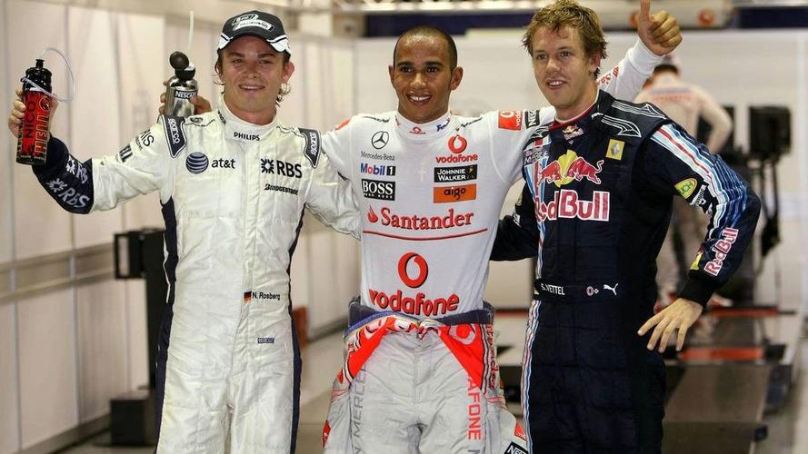 Hamilton Takes Pole in Singapore - results
