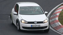 2012 VW Golf VII First Prototype Mule Spy Photos