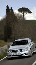 Mercedes-Benz E-Class Coupé, E 500 with AMG sports package, exterior