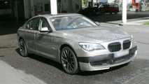 BMW M7 Prototype Caught with minimal disguise