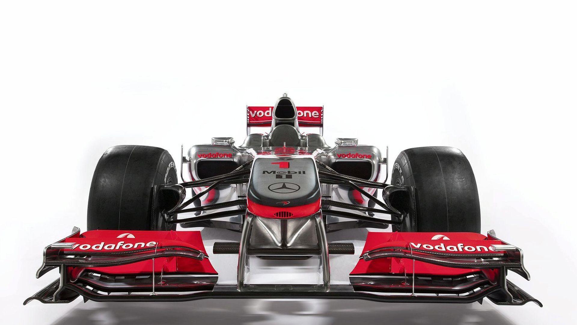 McLaren Unveils New MP4-25 Car