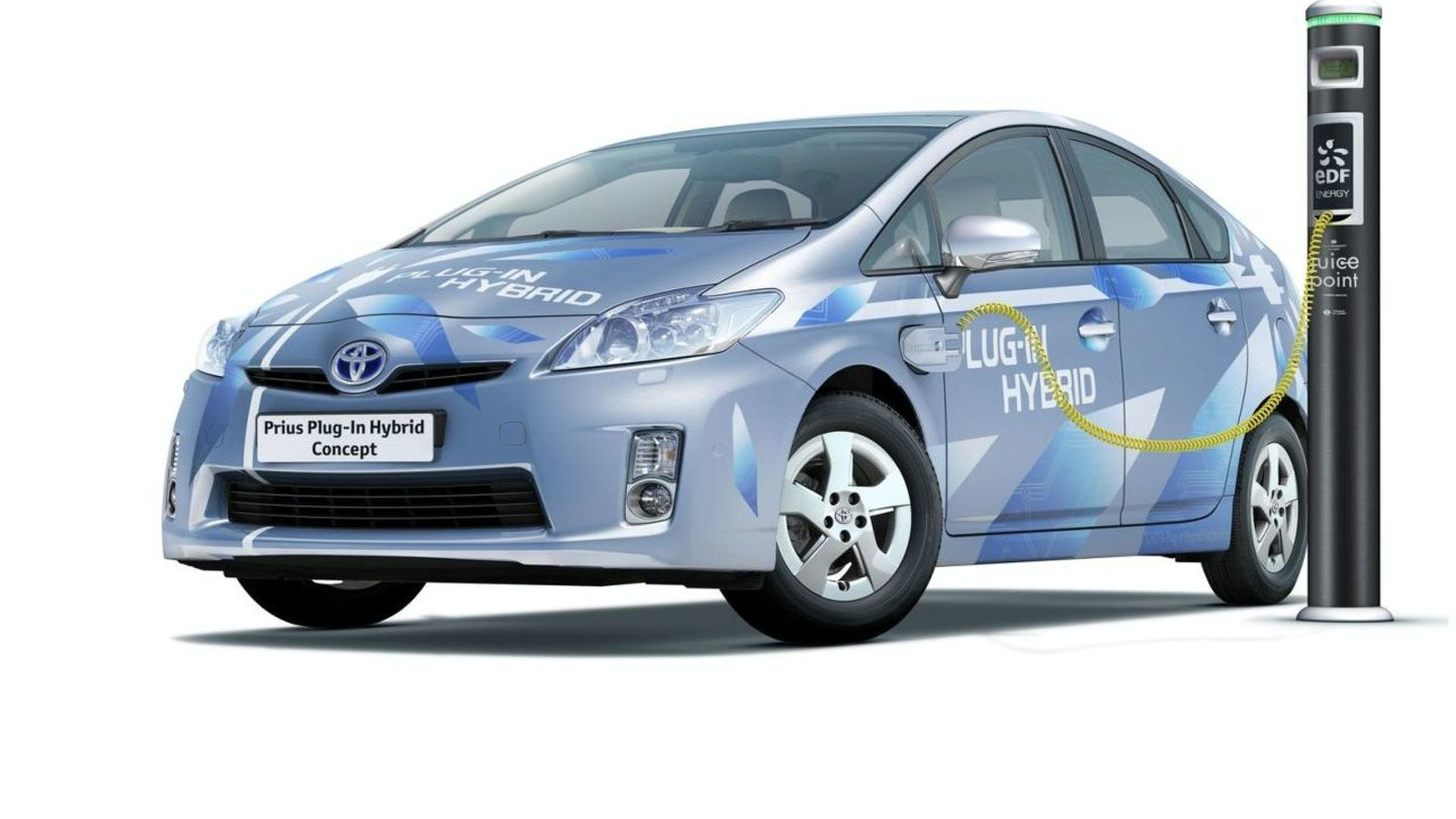 Toyota Prius Plug-in Hybrid Concept Announced - Public reveal in Frankfurt