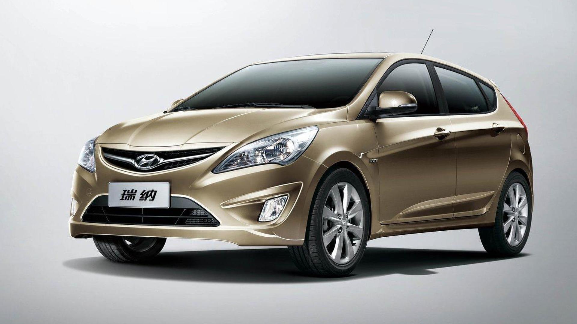 Hyundai Verna 5 Door Revealed In China