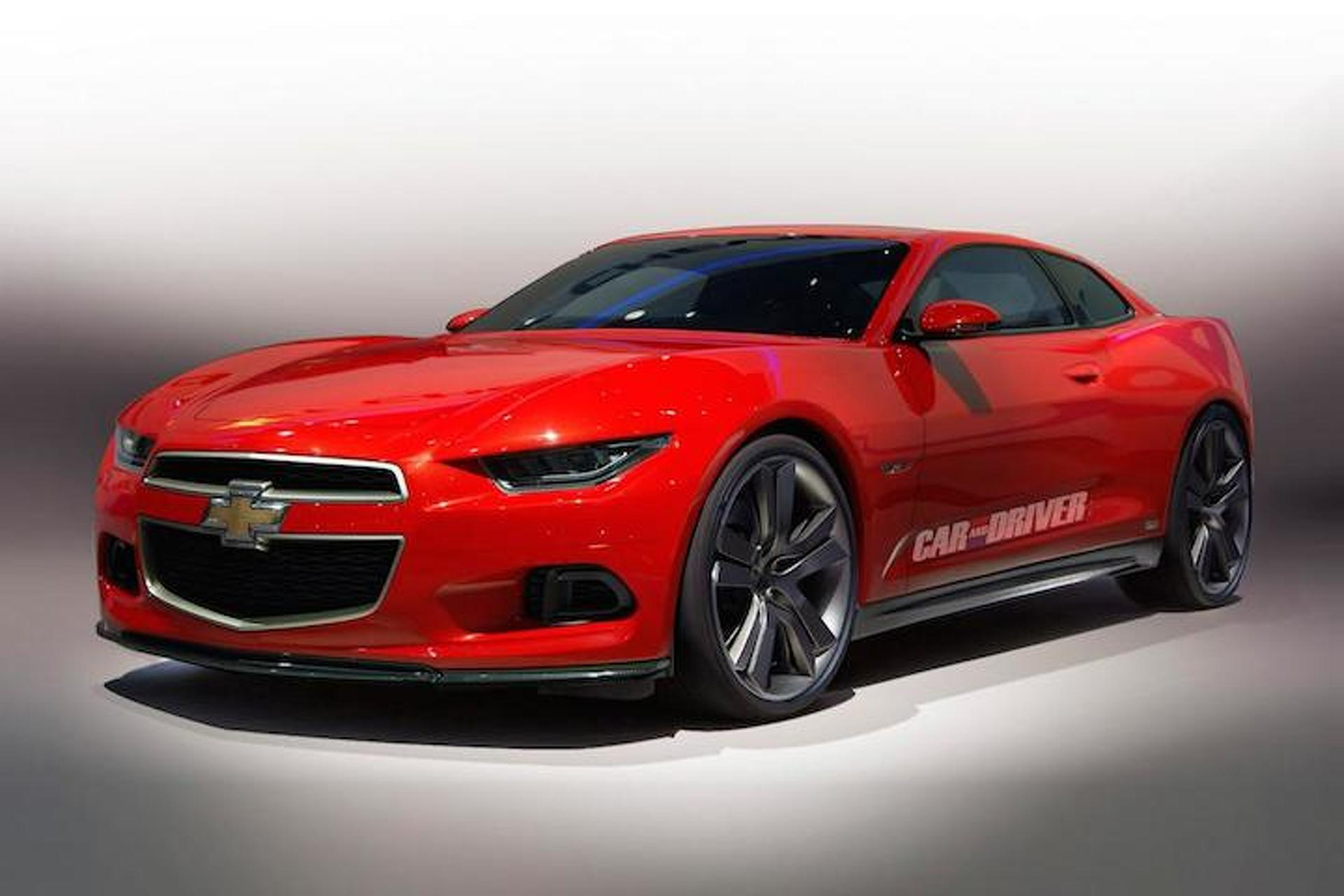 The New Camaro Should Look Like This, And Have A Four-Cylinder
