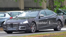 2017 Maserati Quattroporte spy photos