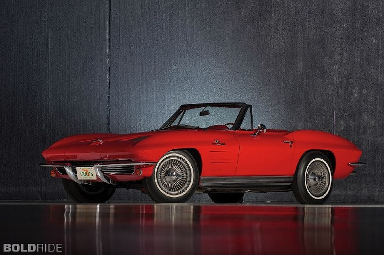 1963 Chevy Corvette: The Sting Ray Makes Its Debut