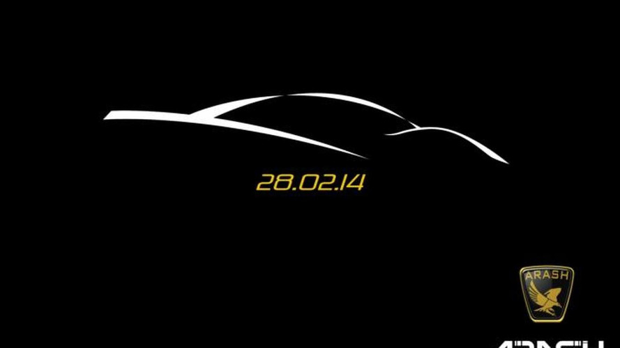 Arash Cars teases new model, will be unveiled on February 28