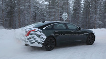 2015 Jaguar XJ facelift spied near the Arctic Circle