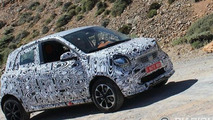 2015 Smart ForFour Brabus spy photo