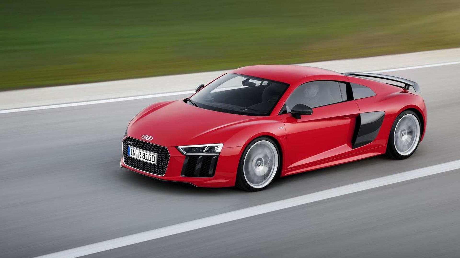 Entry-level Audi R8 will reportedly have a biturbo 3.0-liter V6