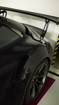 Porsche 911 GT3 RS photographed without any disguise