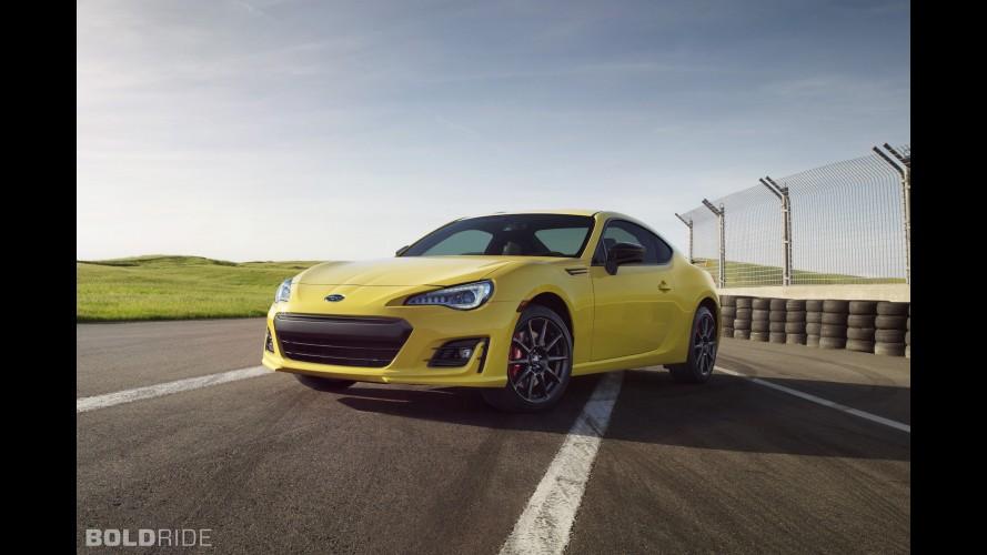Subaru BRZ Series.Yellow