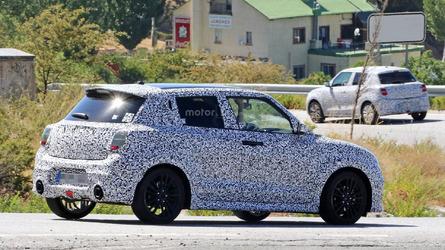 2017 Suzuki Swift Sport shows off fat exhaust tips