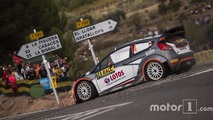 Robert Kubica et Maciek Szczepaniak, Ford Fiesta WRC