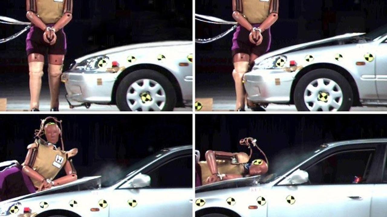 Honda safety hood
