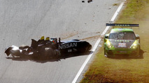 Nissan DeltaWing crash