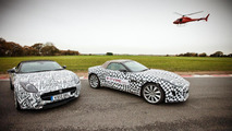 Jaguar F-Type tested by Brundle, Danner and Bell 14.12.2012