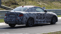 2014 BMW 2-Series Coupe spied at the Nurburgring