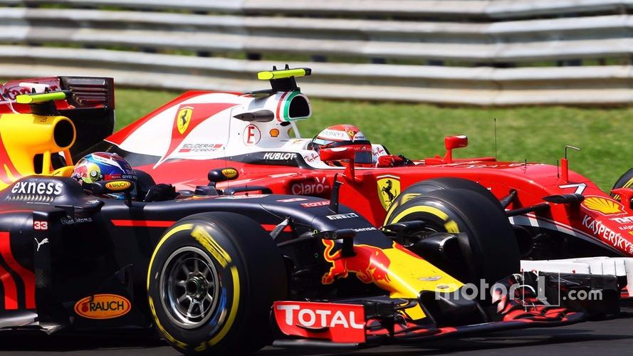 Raikkonen to Verstappen: