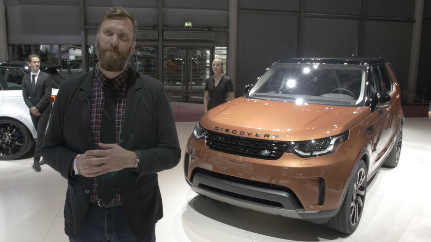 Video: 2017 Land Rover Discovery at the Paris Motor Show