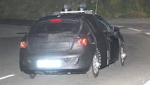 2012 Seat Ibiza facelift spied in the night