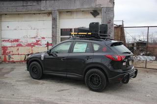 CJ Wilson's Zombie-Proof Mazda CX-5