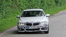 BMW 4-Series Convertible facelift spy photos