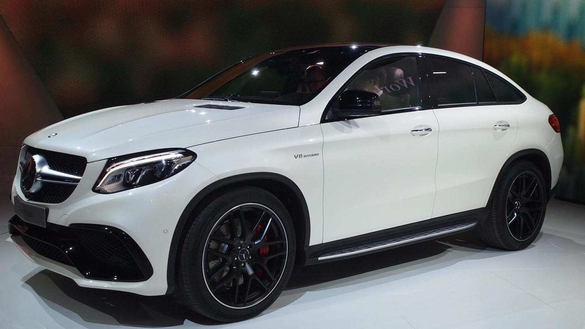 Mercedes amg gle 63 coupe arrives in motown with 557 ps for Camioneta mercedes benz