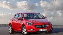 Opel Astra comes into focus, will be smaller & lighter than its predecessor