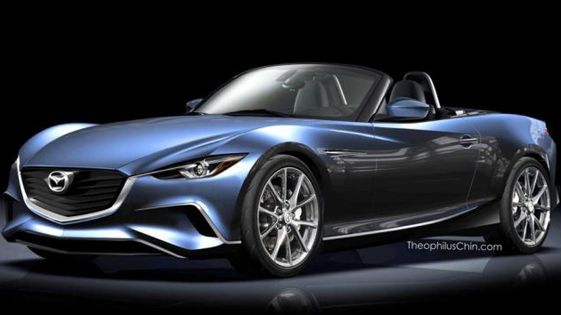 2015 Mazda MX-5 render looks sublime