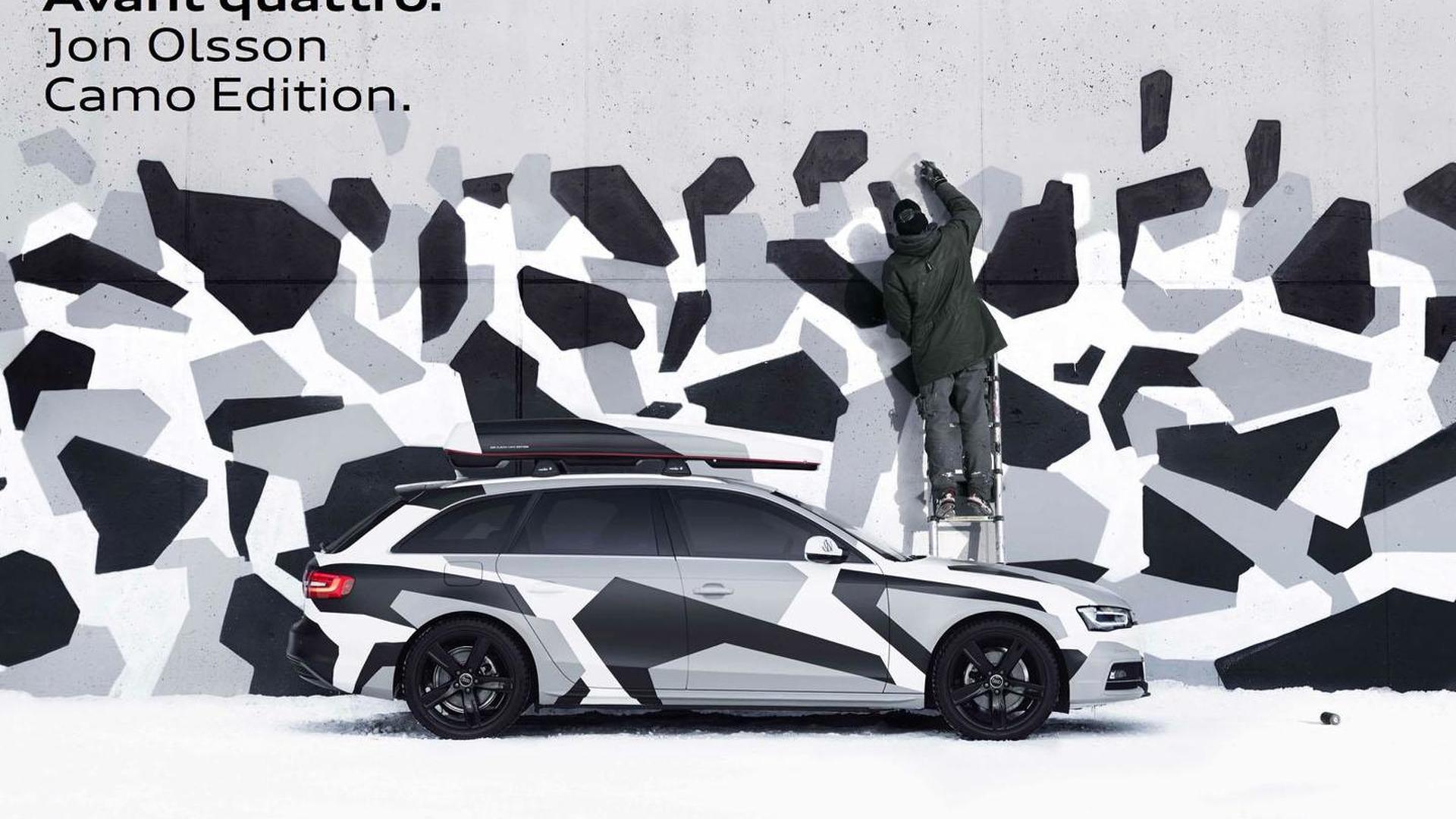 Audi A4 Avant Jon Olsson Camo Edition announced