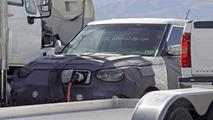 2014 Kia Soul EV spy photo
