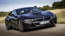BMW i8 gains several new options including a leather engine cover