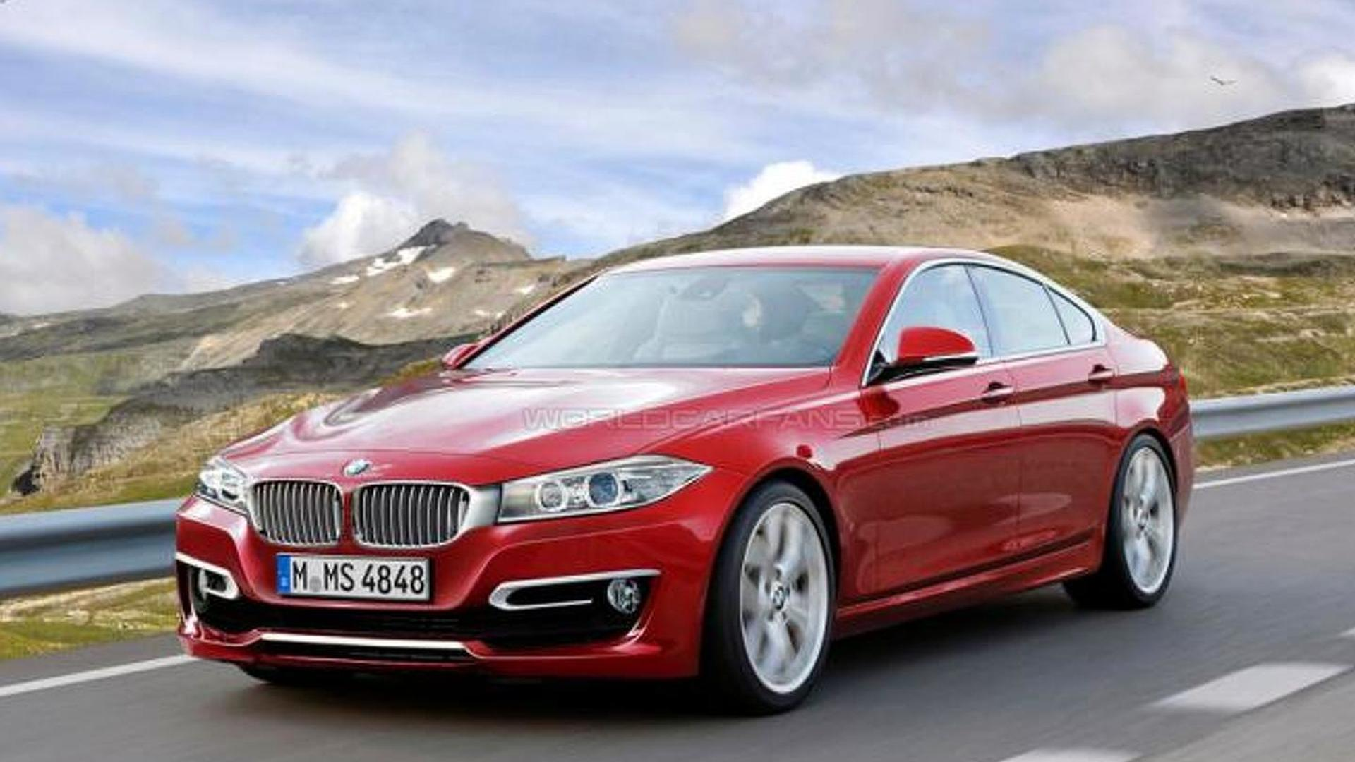 bmw 4 series gran coupe coming next year report. Black Bedroom Furniture Sets. Home Design Ideas