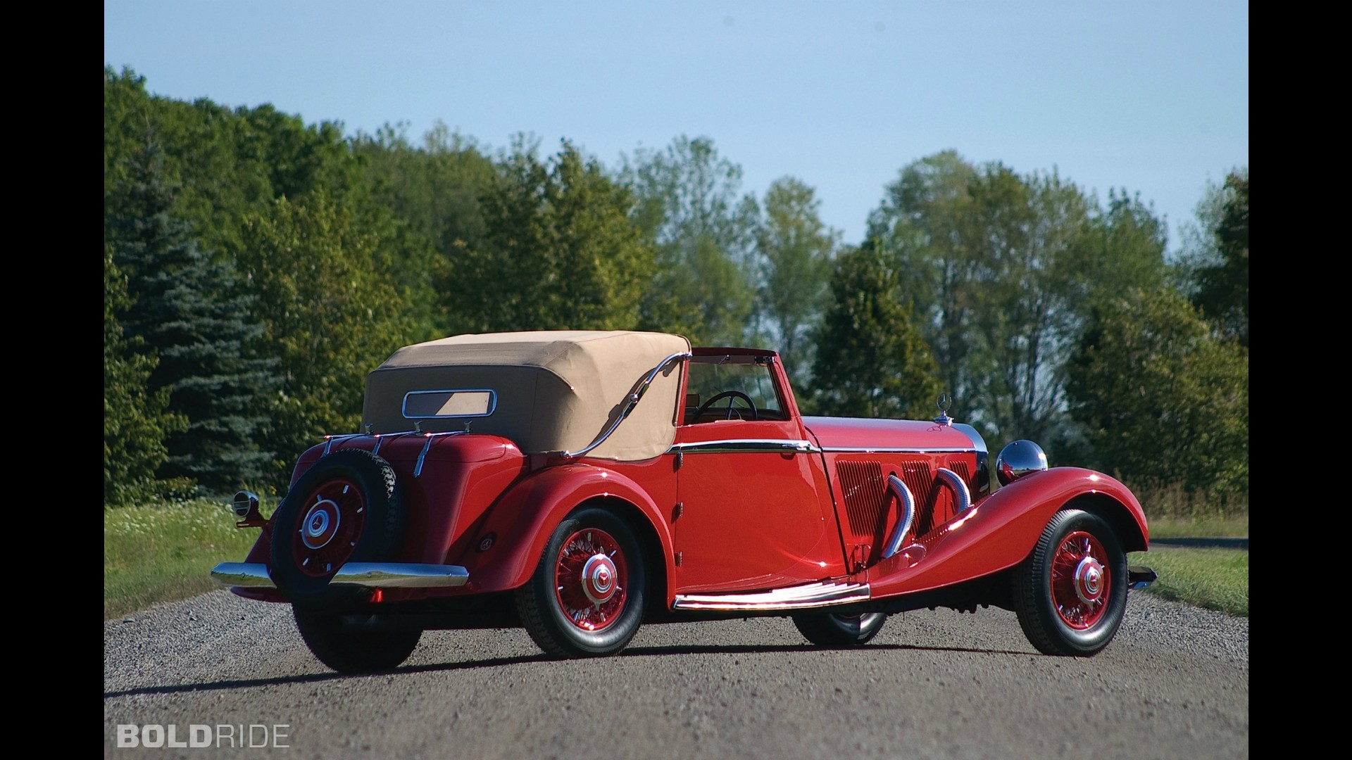 Mercedes-Benz 500 K Three-Position Drophead Coupe