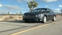 Nissan Maxima Gets Its First Driving Footage