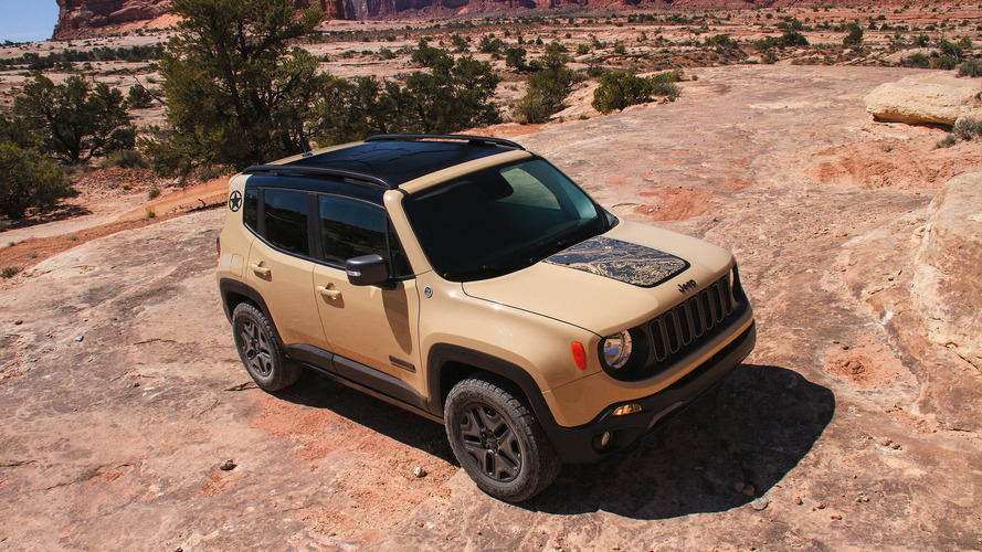 Jeep Renegade Altitude and Deserthawk special editions
