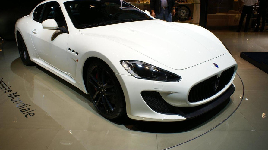 Maserati GranTurismo MC Stradale detailed for Paris